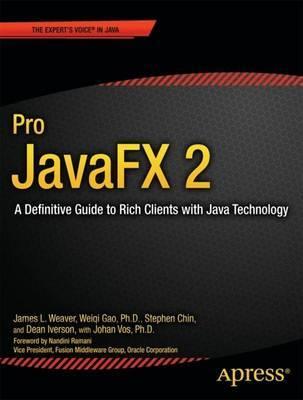 Pro JavaFX 2 by James Weaver image