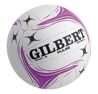 Gilbert Pulse Netball-White (Size 4)