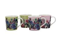 Maxwell & Williams - Palm Springs Mug Set of 4 (400ml)