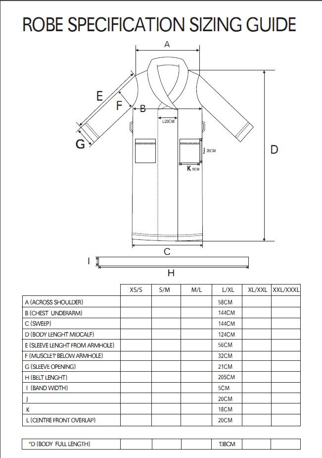 Bambury Blush Microplush Robe (Large/Extra Large) image