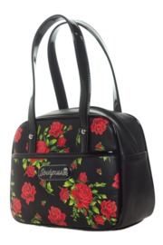 Sourpuss: Rose Garden Mini Bowler Purse