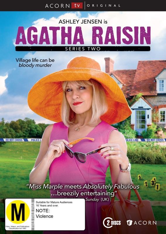 Agatha Raisin Series 2 on DVD