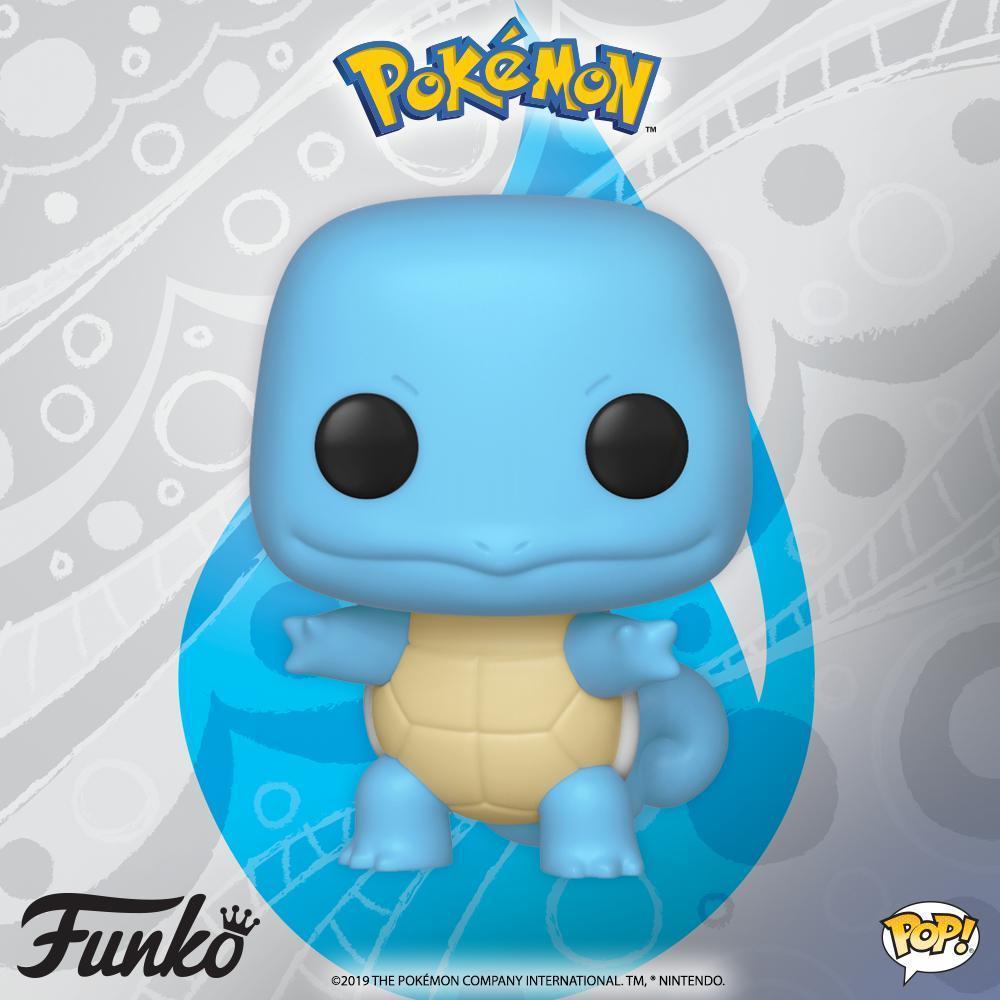 Pokemon - Squirtle Pop! Vinyl Figure image