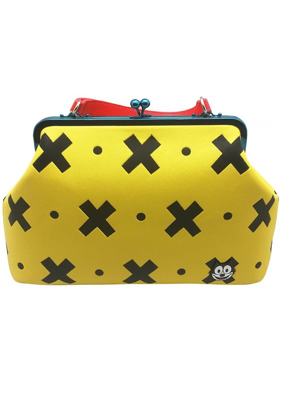 Loungefly: Felix the Cat - Yellow & Black Crossbody Bag