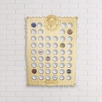 Gift Republic: Beer Cap Collection - Display Board