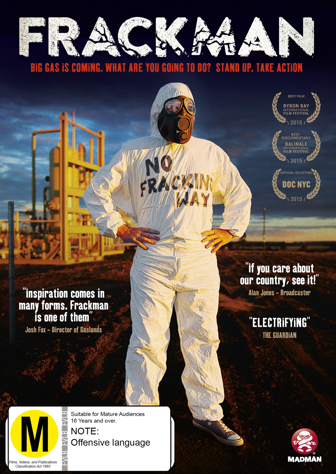 Frackman on DVD image