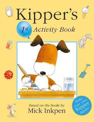 Kipper: Kipper's 1st Activity Book by Mick Inkpen image