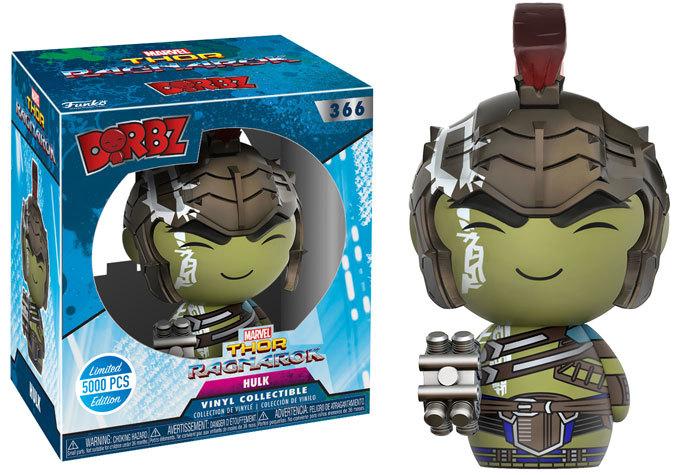 Thor: Ragnarok - Hulk (Gladiator Ver.) Dorbz Vinyl Figure image