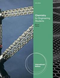 Chemistry for Engineering Students, International Edition by Tom Holme image