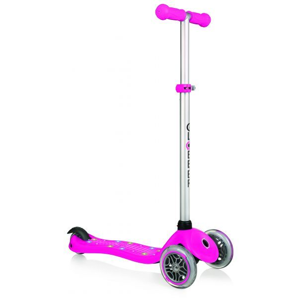 Globber: Primo Starlight Scooter - Deep Pink