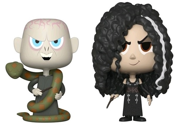 Bellatrix + Voldemort - Vynl. Figure 2-Pack