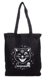 Sourpuss: Jinx Cat - Tote Bag