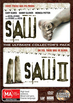 Saw / Saw II - The Ultimate Collector's Pack (2 Disc Set) on DVD