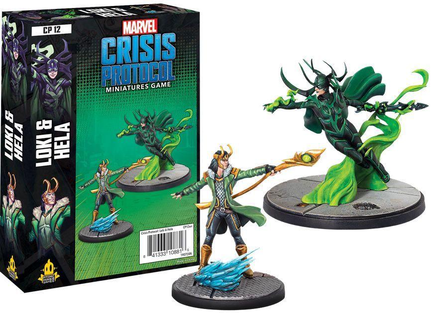 Marvel Crisis Protocol Miniatures Game Loki and Hella Expansion image
