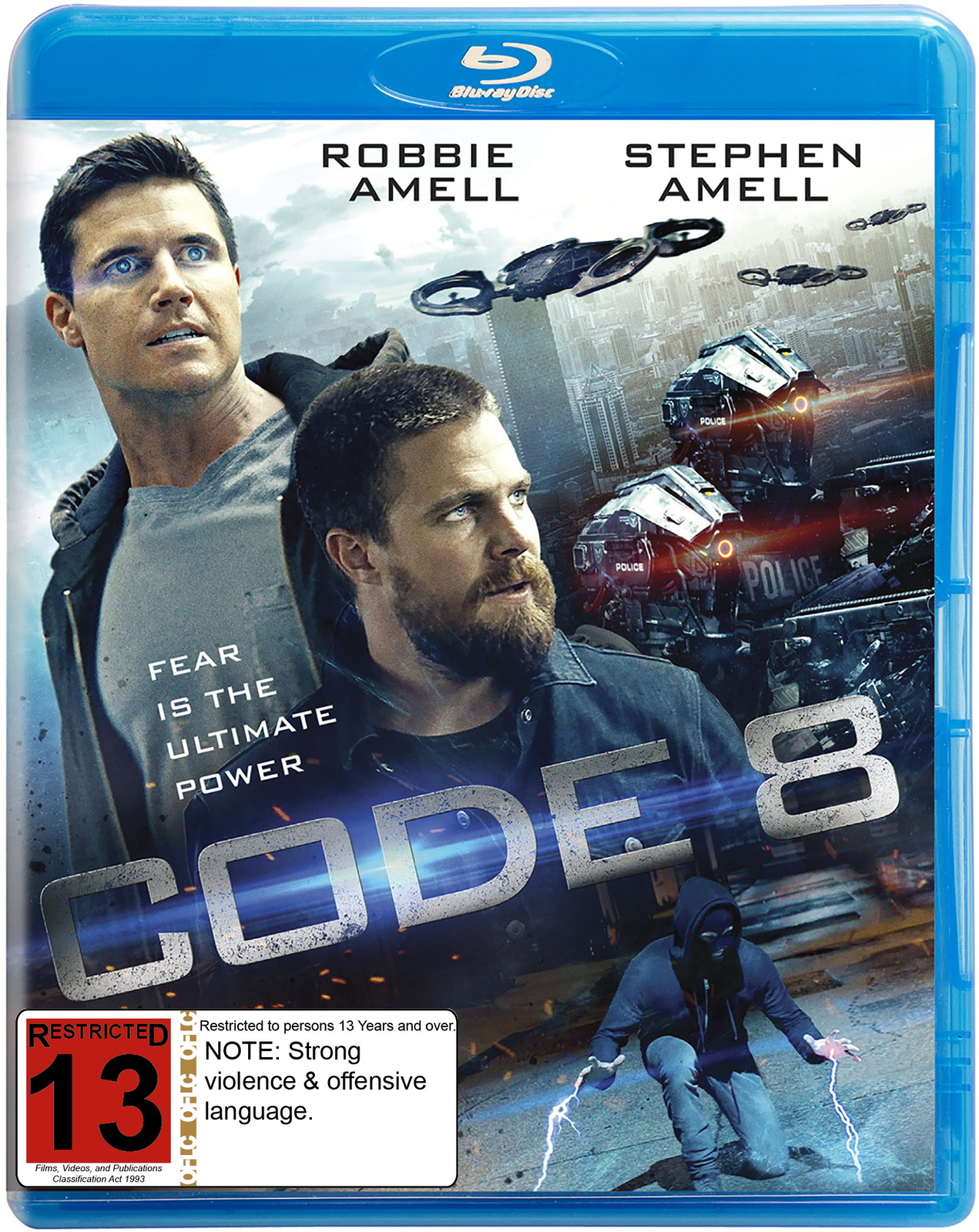 Code 8 | Blu-ray | In-Stock - Buy Now | at Mighty Ape NZ