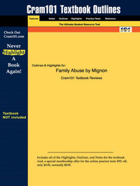 Studyguide for Family Abuse by Mignon, ISBN 9780205295692 by Cram101 Textbook Reviews image