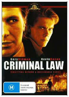 Criminal Law on DVD image