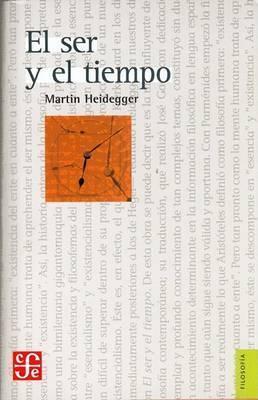 El Ser y El Tiempo by Martin Heidegger