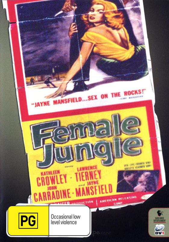 Female Jungle on DVD