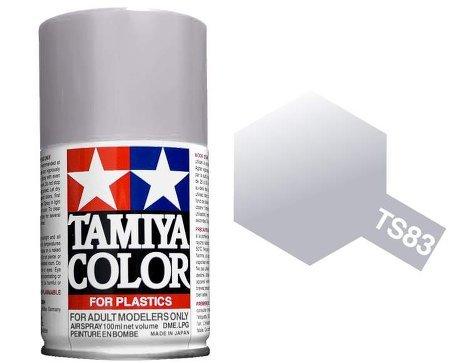 Tamiya TS-83 Metallic Silver - 100ml Spray Can