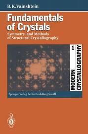 Fundamentals of Crystals by Boris K. Vainshtein