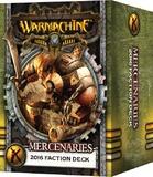 Warmachine: Mercenary Faction Deck 2016