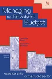 Managing the Devolved Budget by Jennifer Bean