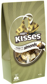 Hershey's Extra Creamy Kisses with Almonds 108g