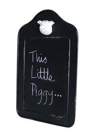 Sam Pig: Black Board - Black/White