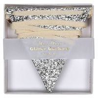 Garland - Silver Glitter