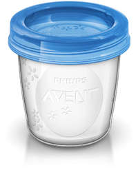 Philips Avent Milk Storage Cups - 180ml (10 Pack)