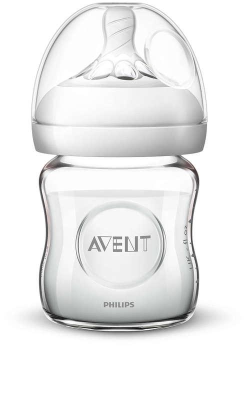 Philips Avent Natural Glass Bottle - 120ml