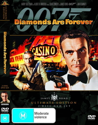 James Bond - Diamonds are Forever (1 Disc) on DVD image