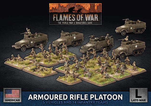 Flames of War: Armored Rifle Platoon - (Plastic)