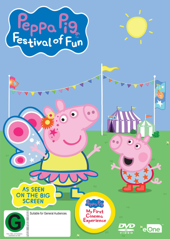 Peppa Pig: Festival Of Fun on DVD