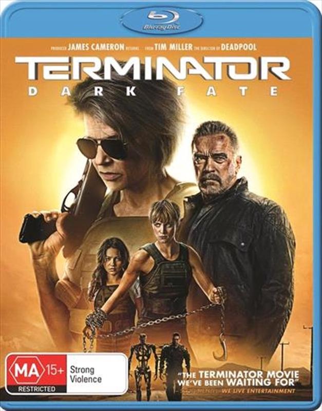 Terminator: Dark Fate on Blu-ray