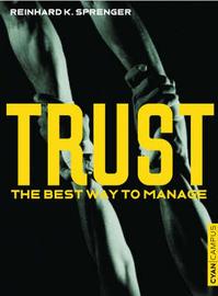 Trust by Reinhard K. Sprenger image