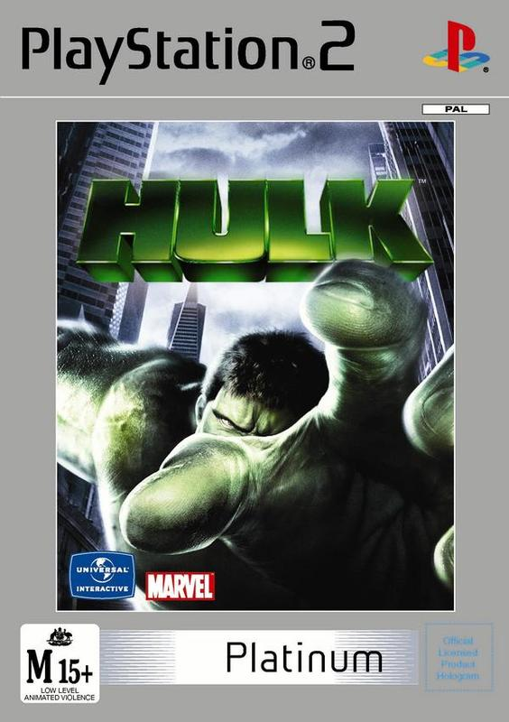 The Hulk for PlayStation 2