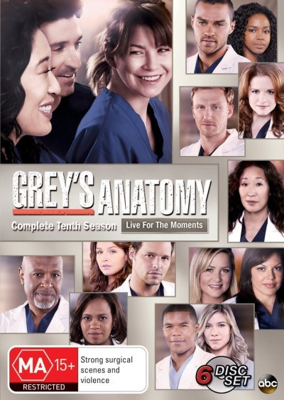 Grey's Anatomy - Complete Tenth Season on DVD