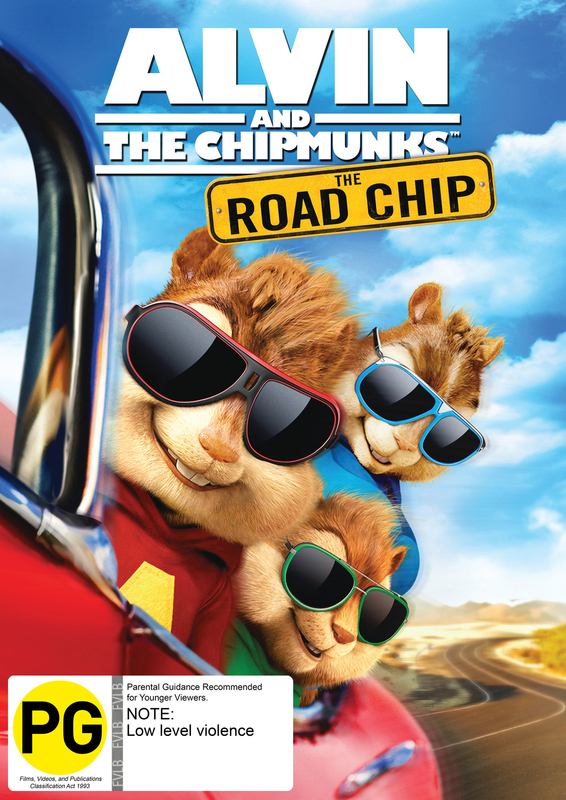 Alvin And The Chipmunks: Road Chip on DVD