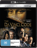The Da Vinci Code on Blu-ray, UHD Blu-ray, UV