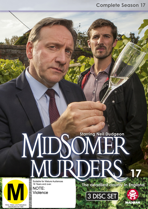 Midsomer Murders - Complete Season 17 on DVD