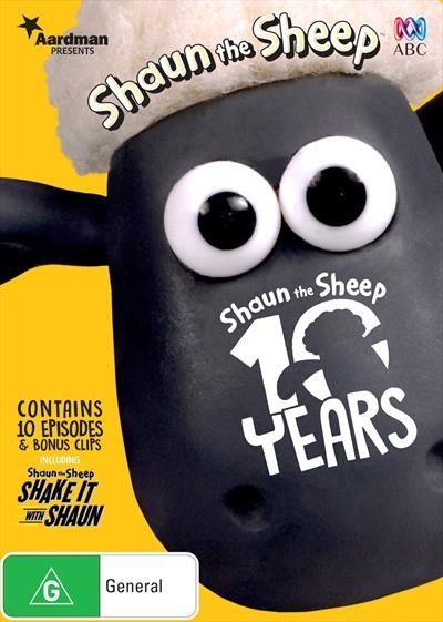 Shaun the Sheep: 10 Years of Shaun on DVD image