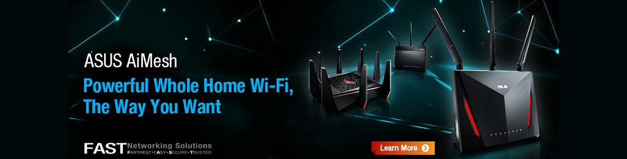 ASUS AiMesh Networking Solutions
