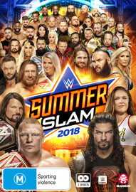 Wwe: Summerslam 2018 on DVD