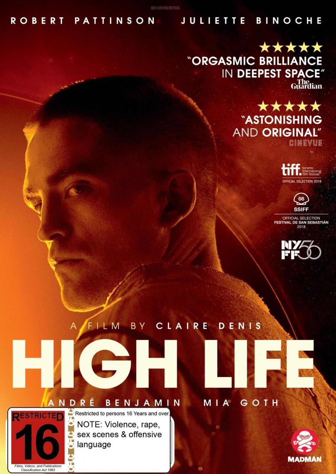 High Life on DVD image