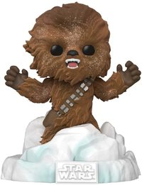 Star Wars: Chewbacca (Flocked) - Pop! Deluxe Diorama image