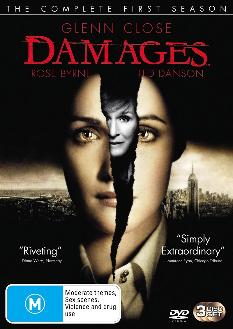 Damages - The Complete 1st Season on DVD image