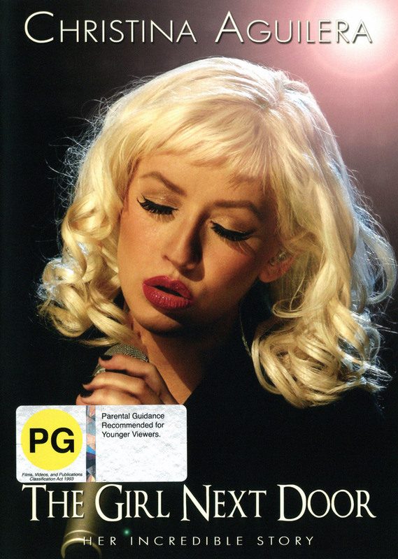 Christina Aguilera - The Girl Next Door on DVD