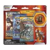 Pokemon TCG Entei 3 Pack Pin Blister